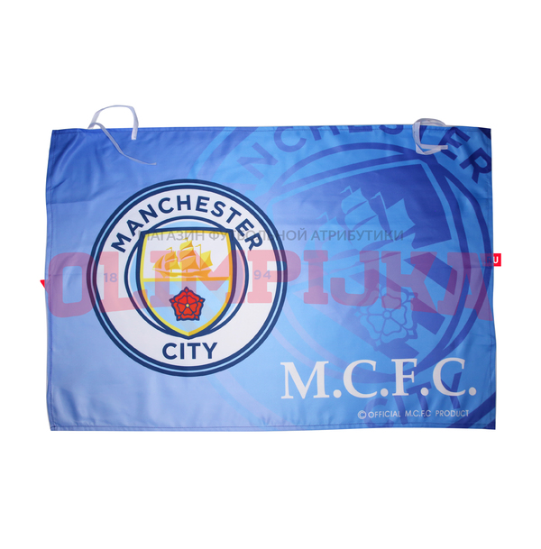 Клубный флаг ФК Манчестер Сити