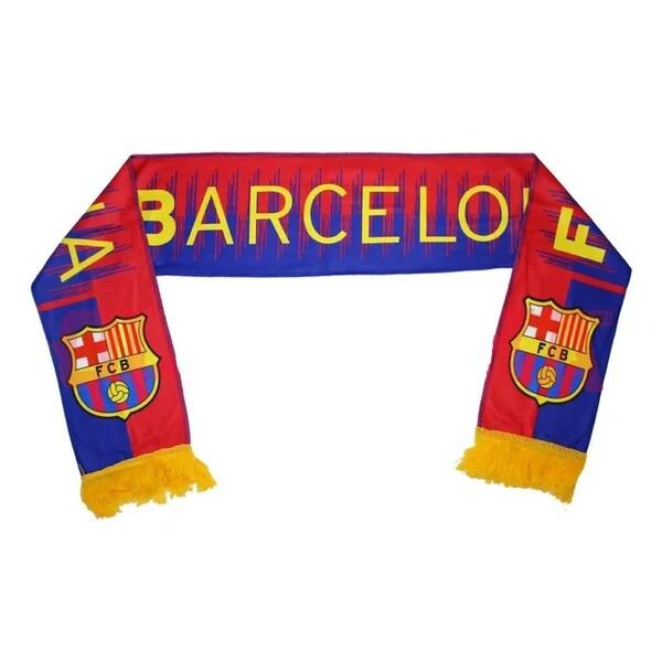 Барселона Клубный шарф флисовый